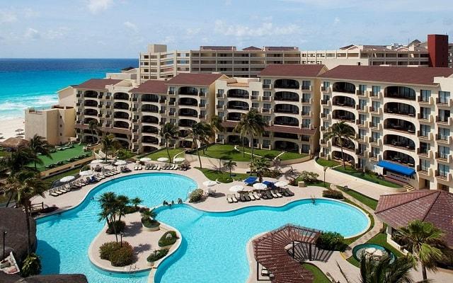 Emporio Hotel & Suites Cancún, hermosa vista aérea