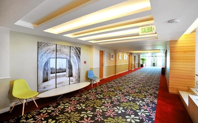 Hotel Emporio Veracruz, instalaciones limpias y acogedoras