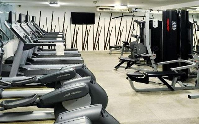 Hotel Emporio Veracruz, gimnasio bien equipado