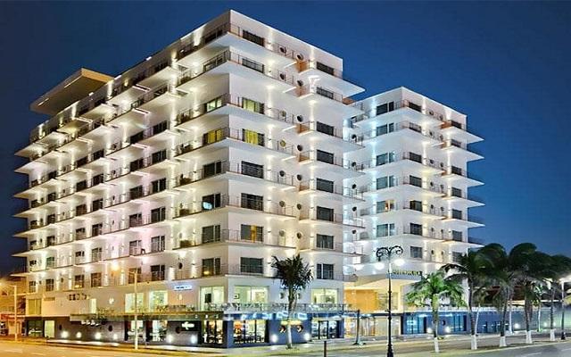Hotel Emporio Veracruz, buena ubicación