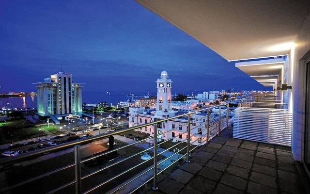 Hotel Emporio Veracruz, hermosa vista nocturna
