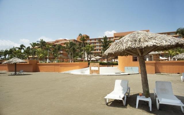 Hotel Fiesta Americana Veracruz, amenidades en la playa