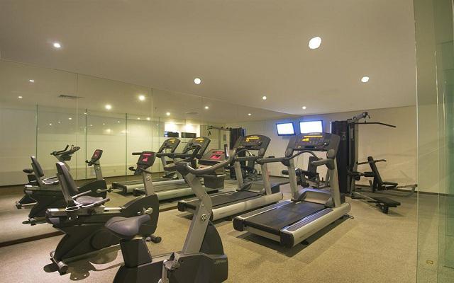 Gimnasio equipado para realizar tus ejercicios