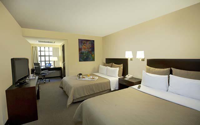 Fiesta Inn San Cristobal de las Casas, habitaciones cómodas y acogedoras