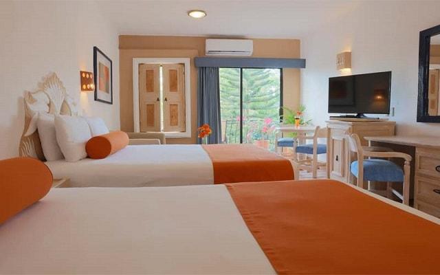 Flamingo Vallarta Hotel y Marina, amplias y luminosas habitaciones
