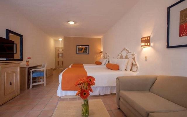 Flamingo Vallarta Hotel y Marina, habitaciones bien equipadas