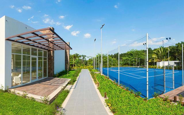 Garza Blanca Family Beach Resort and Spa, cancha de tenis