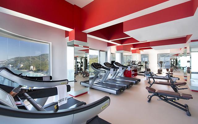 Garza Blanca Family Beach Resort and Spa, gimnasio bien equipado