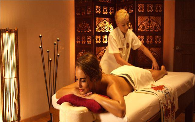 El hotel posee un spa con gran variedad de tratamientos