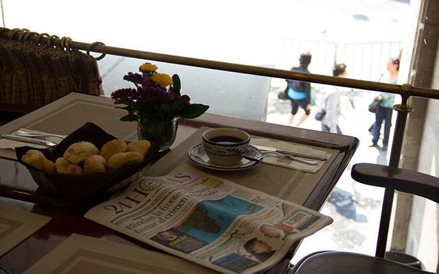 Gran Hotel Ciudad de México, disfruta un delicioso desayuno en la terraza