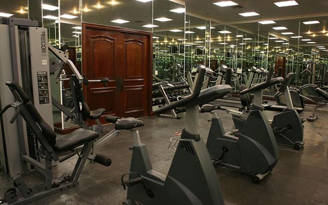 Gran Hotel Ciudad de México, gimnasio abierto 24 hs