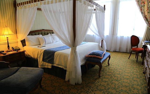 Gran Hotel Ciudad de México, elegante decoración