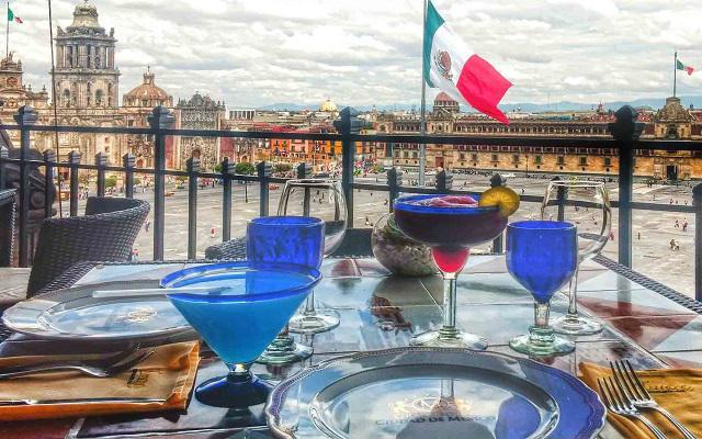 Gran Hotel Ciudad de México, Restaurante La Terraza