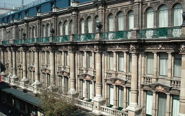 Gran Hotel Ciudad de México, construido en 1899