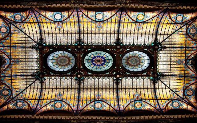 Gran Hotel Ciudad de México, vitral Tiffany