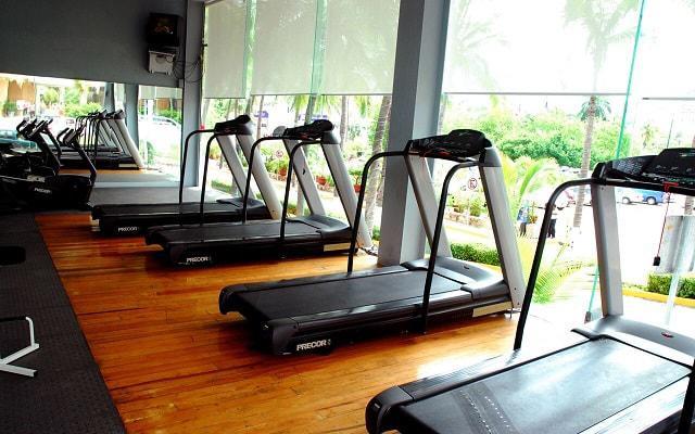 Gran Plaza Hotel Acapulco, gimnasio equipado