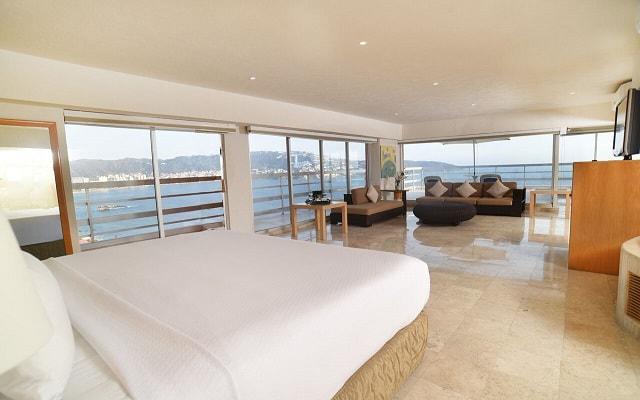 Gran Plaza Hotel Acapulco, habitaciones con vistas increíbles