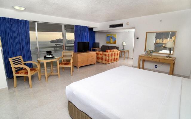 Gran Plaza Hotel Acapulco, habitaciones bien equipadas