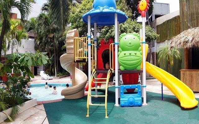 Gran Plaza Hotel Acapulco, área de juegos para niños