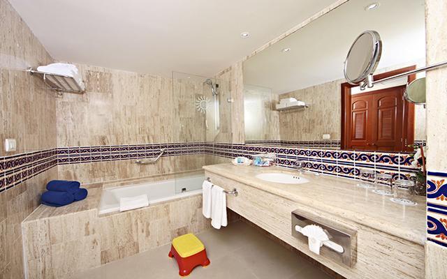 Hotel Grand Bahía Príncipe Cobá, habitaciones amplias