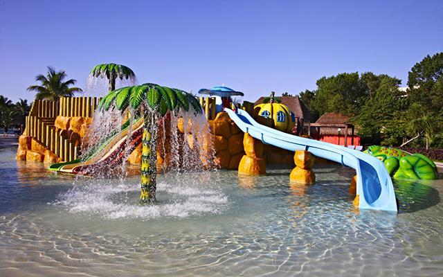 Hotel Grand Bahía Príncipe Cobá, parque acuático para niños