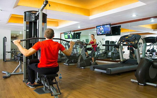 Grand Miramar Resort and Spa, gimnasio bien equipado