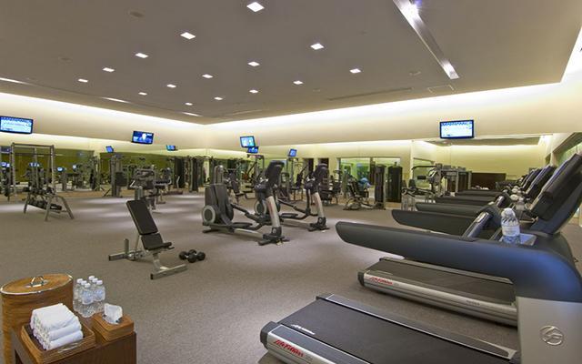 Hotel Grand Velas Riviera Maya Luxury All Inclusive, gimnasio bien equipado