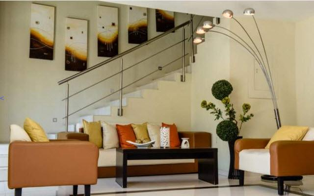 H177 Hotel Lobby Vanguardista