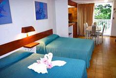 Habitación Superior con Cocineta del Hotel Alba Suites Acapulco