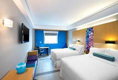 Habitación Aloft Estándar Vista Parcial a la Laguna del Hotel Hotel Aloft Cancún