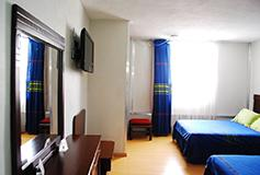 Habitación Estándar Sencilla del Hotel Aristos Puebla