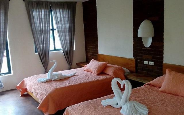 Habitación Estándar del Hotel Axkan Arte Palenque