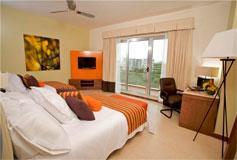 Habitación Deluxe del Hotel Krystal Urban Cancún Malecón