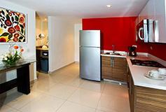 Habitación Estándar con Cocineta del Hotel Bahia Escondida Hotel Convention Center and Resort