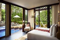 Habitación Residencia Familiar de Tres Recámaras del Hotel Banyan Tree Mayakoba