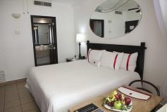 Habitación Estándar vista al jardín  del Hotel Hotel Krystal Grand Nuevo Vallarta