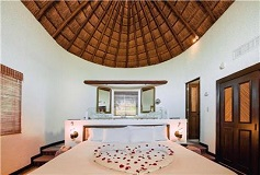 Habitación Palapa con Balcón del Hotel Bel Air Collection Resort & Spa Xpu-Ha Riviera Maya