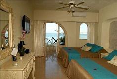 Habitación Vista al Mar con Balcón + WiFi Gratis del Hotel Hotel Blue Chairs Resort By The Sea