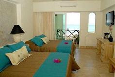 Habitación Vista Parcial con Balcón + WiFi Gratis del Hotel Hotel Blue Chairs Resort By The Sea