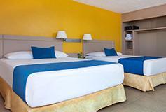 Habitación Estándar Vista a la Montaña del Hotel Hotel Calinda Beach Acapulco