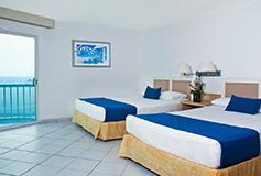 Habitación Estándar Vista al Mar del Hotel Hotel Calinda Beach Acapulco
