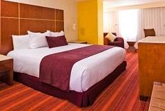 Habitación Camino Real Club Queen del Hotel Camino Real Aeropuerto