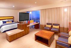 Habitación Junior Suite del Hotel Camino Real Pedregal Mexico