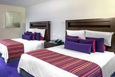 Habitación Superior Deluxe 2 Matrimoniales del Hotel Camino Real Pedregal Mexico