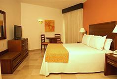 Habitación Deluxe del Hotel Canto del Sol All Inclusive Beach & Tennis Resort