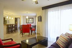 Habitación Suite 2 Recámaras Luxury del Hotel Canto del Sol All Inclusive Beach & Tennis Resort
