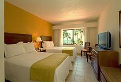 Habitación Estándar Vista Parcial al Mar del Hotel Canto del Sol All Inclusive Beach & Tennis Resort