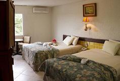 Habitación Estándar Básica del Hotel Casa del Mar Cozumel
