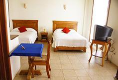 Habitación Estándar Doble Dos Camas Individuales del Hotel Casa del Rio