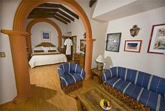 Habitación Master Suite del Hotel Casa Mexicana